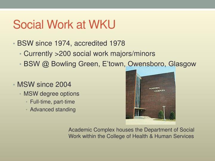 Social Work at WKU