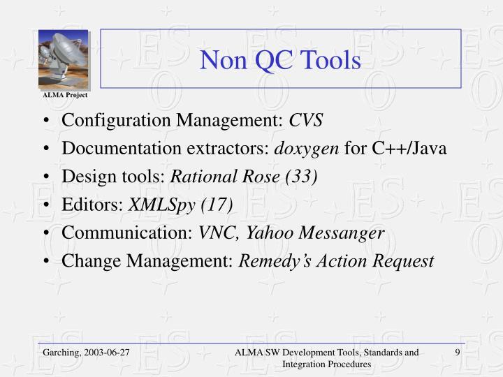 Non QC Tools