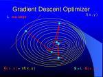 gradient descent optimizer2