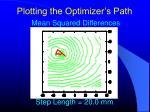 plotting the optimizer s path10