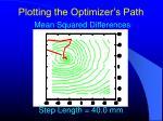 plotting the optimizer s path11