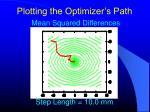 plotting the optimizer s path3