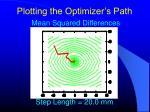 plotting the optimizer s path4