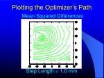 plotting the optimizer s path6
