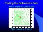 plotting the optimizer s path7