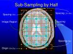 sub sampling by half