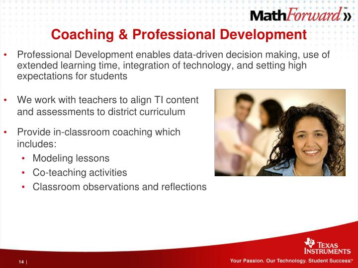 Coaching & Professional Development
