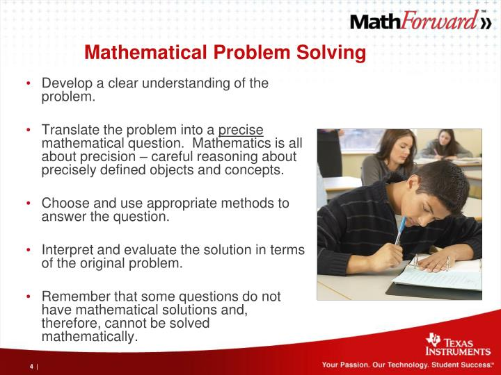 Mathematical Problem Solving