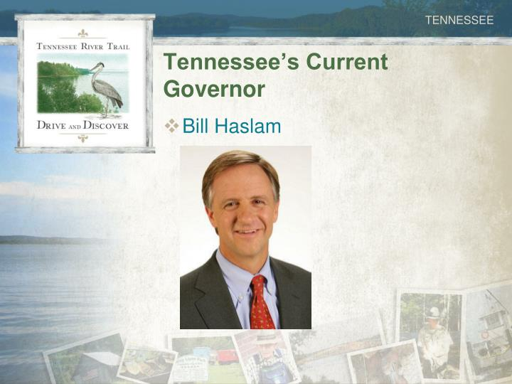 Tennessee's Current Governor