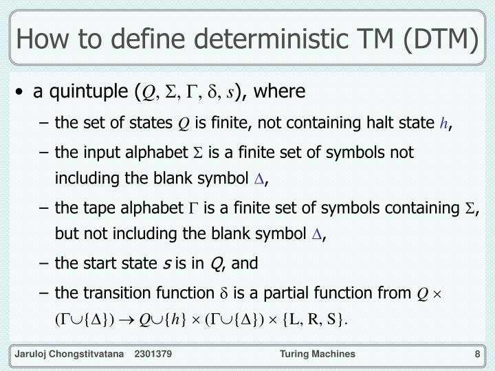 define turing machine