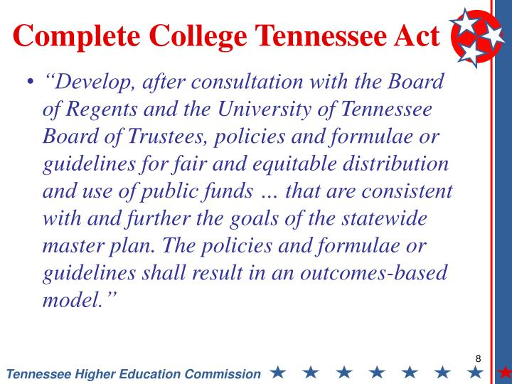 the tennessee higher education commission essay State of tennessee  fact book profiles and trends in higher education  supply and demand report tn promise annual report  summary infographic.