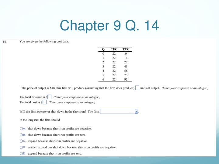Chapter 9 Q. 14