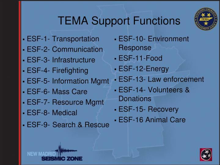 ESF-1- Transportation