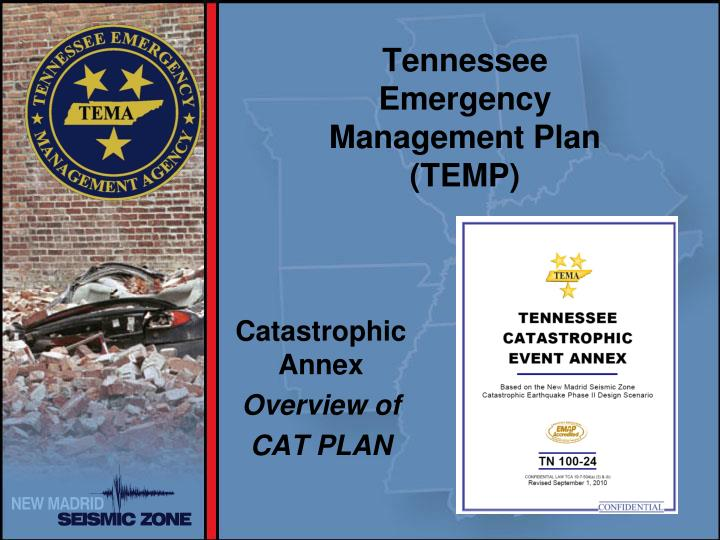 Tennessee Emergency Management Plan