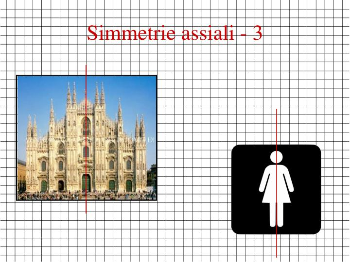 Simmetrie assiali - 3