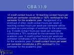 cba 11 9