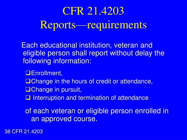 CFR 21.4203