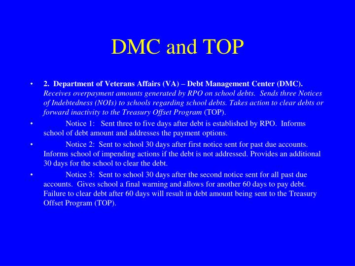 DMC and TOP