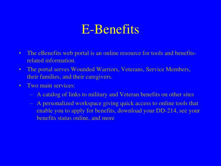 E-Benefits
