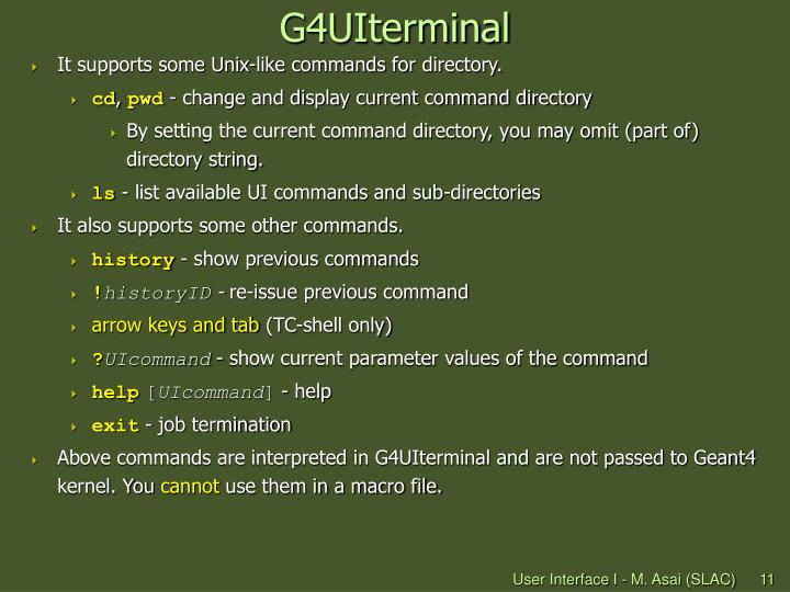 G4UIterminal