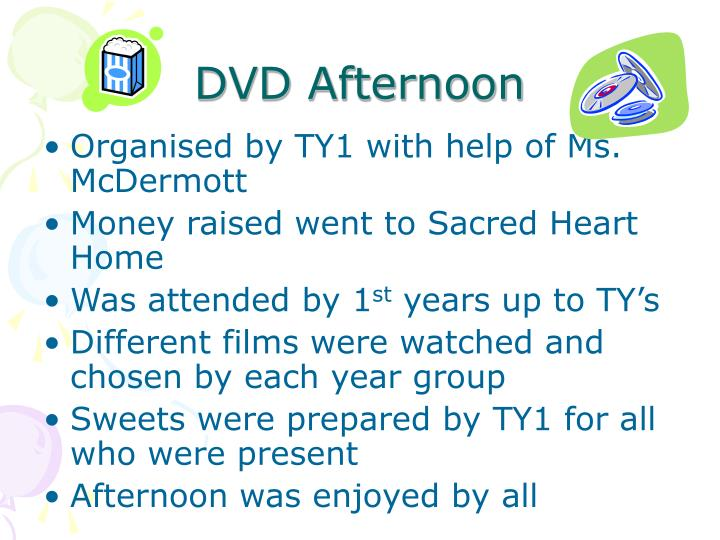 DVD Afternoon