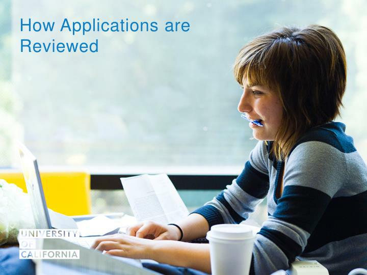 How Applications are Reviewed