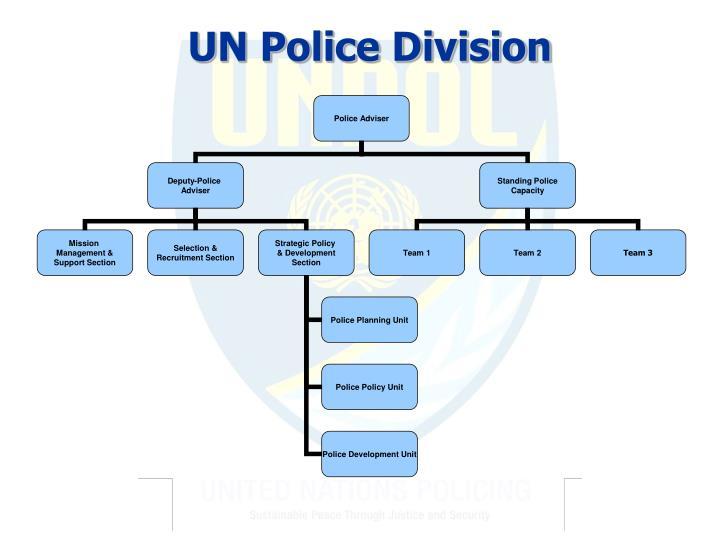 UN Police Division