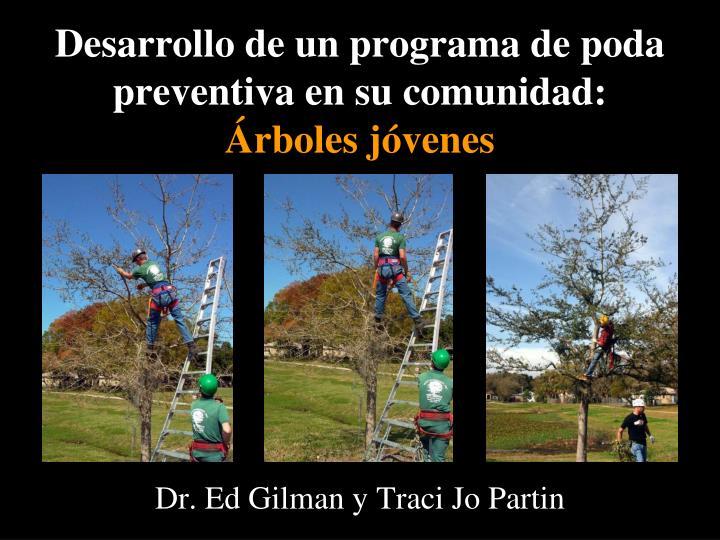 Desarrollo de un programa de poda preventiva en su comunidad:
