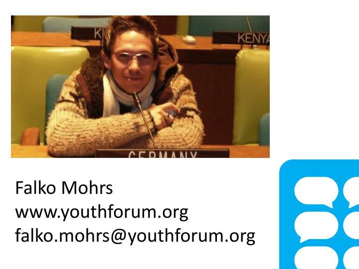 Falko Mohrs