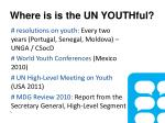 where is is the un youthful