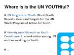 where is is the un youthful1