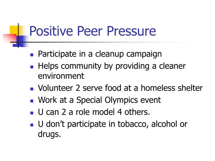 Peer Pressure Positive | www.imgkid.com - The Image Kid ...