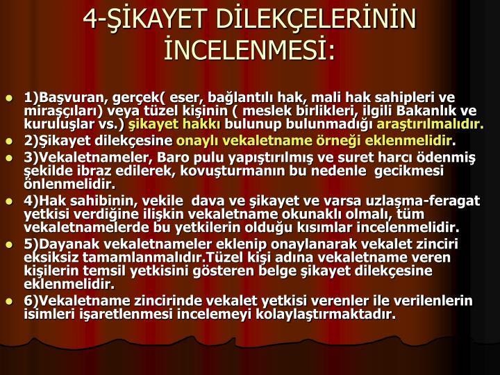 4-KAYET DLEKELERNN NCELENMES: