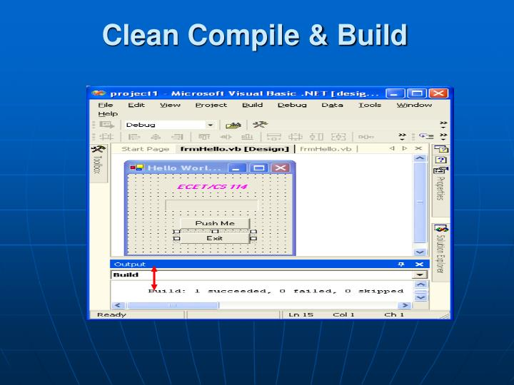 Clean Compile & Build