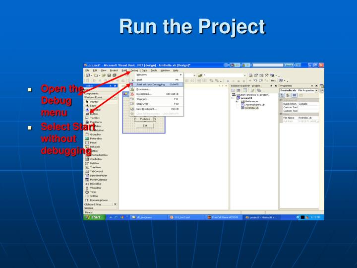 Run the Project