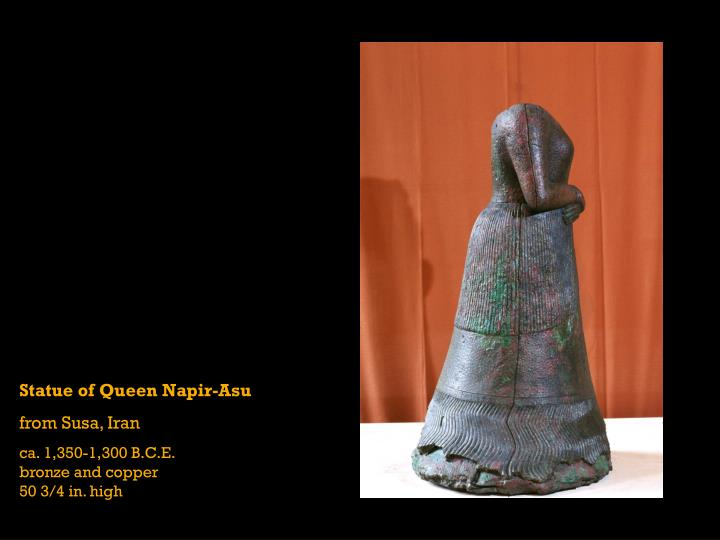 Statue of Queen Napir-Asu