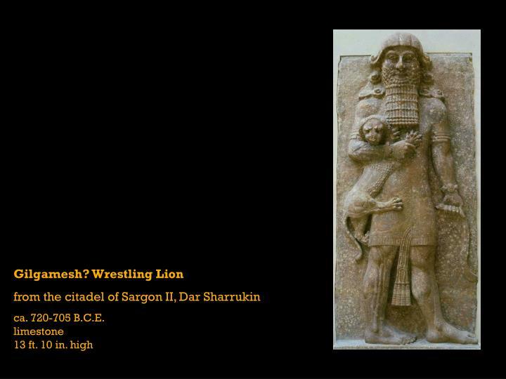 Gilgamesh? Wrestling Lion