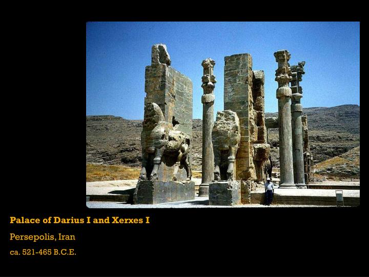 Palace of Darius I and Xerxes I