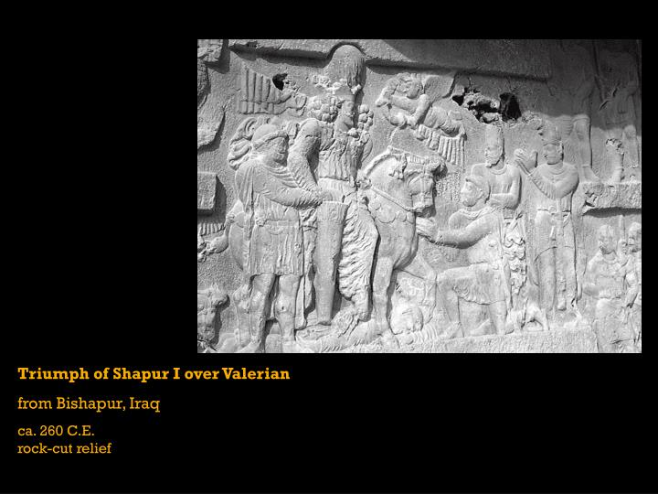 Triumph of Shapur I over Valerian