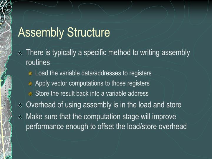 Assembly Structure