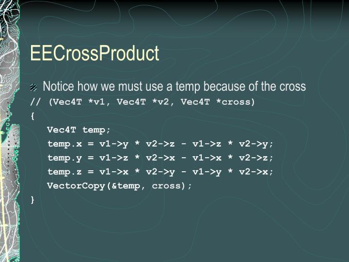 EECrossProduct