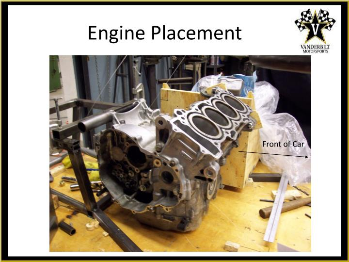 Engine Placement