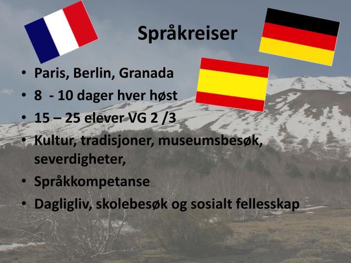 Språkreiser