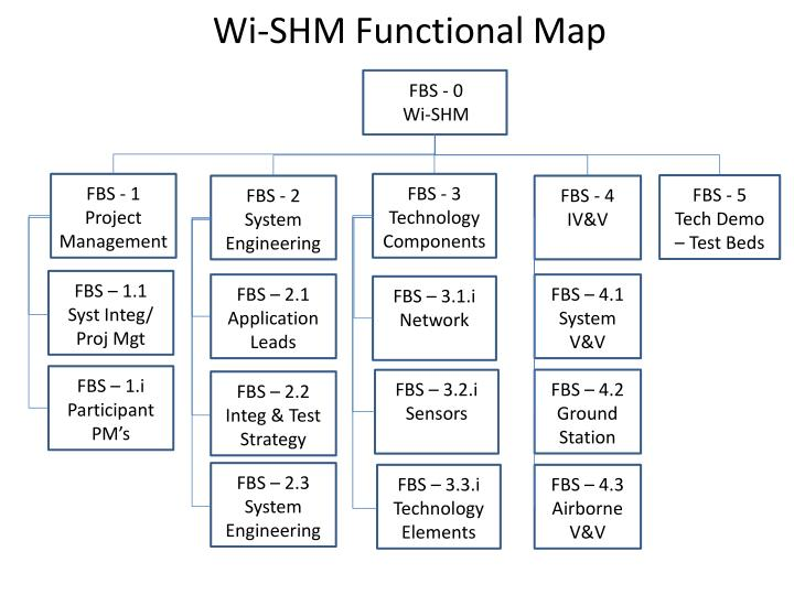 Wi shm functional map