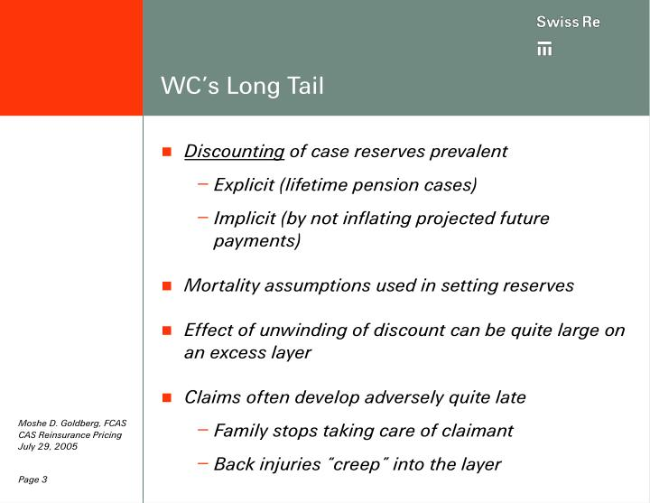 Wc s long tail