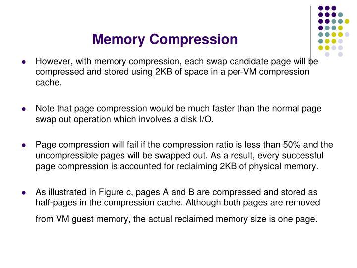Memory Compression
