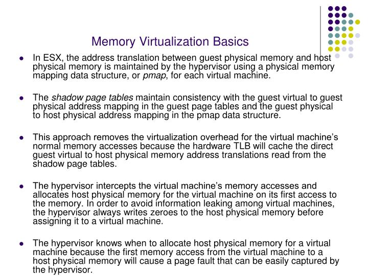 Memory Virtualization Basics