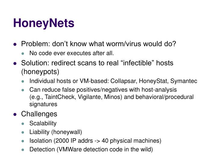 HoneyNets