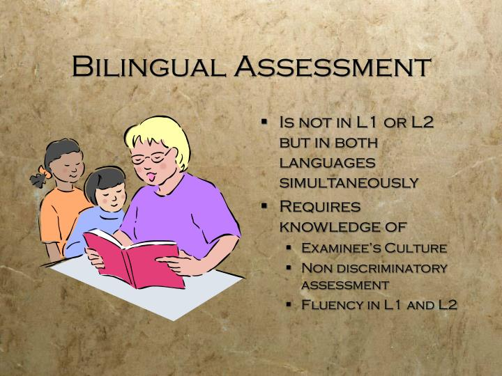 Bilingual Assessment