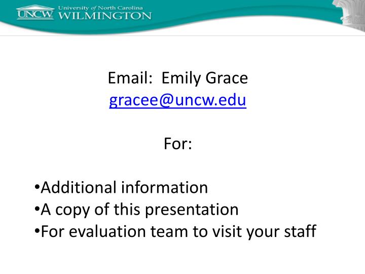 Email:  Emily Grace